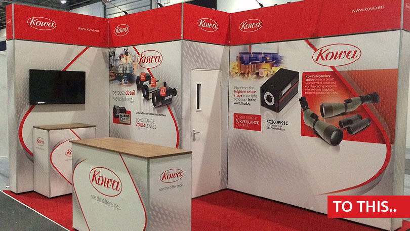 Modular Exhibition Stands Out : Benefits of a using modular exhibition stand