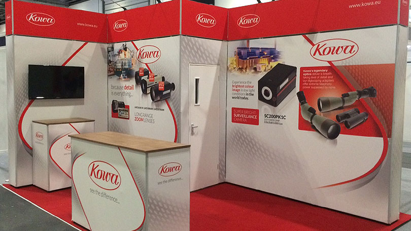 Exhibition Stand Modular System : T modular display system
