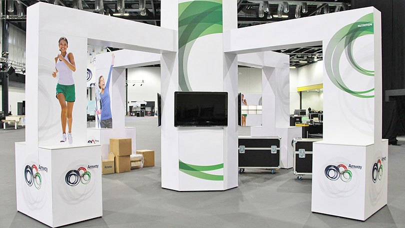 Modular Exhibition Stands Out : T modular display system